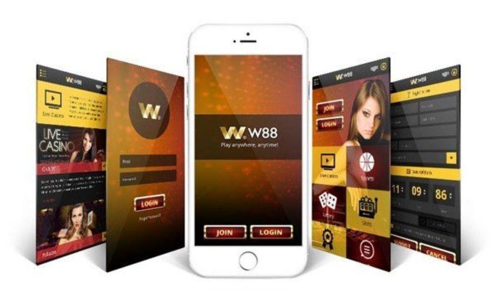 Ứng dụng W88 cho điện thoại
